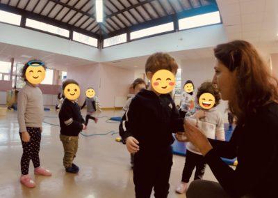 Atelier d'éveil corporel, danse en Relais assistante maternelle enfants