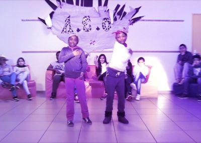 tournage d'un clip danse à vernouillet école fratellini