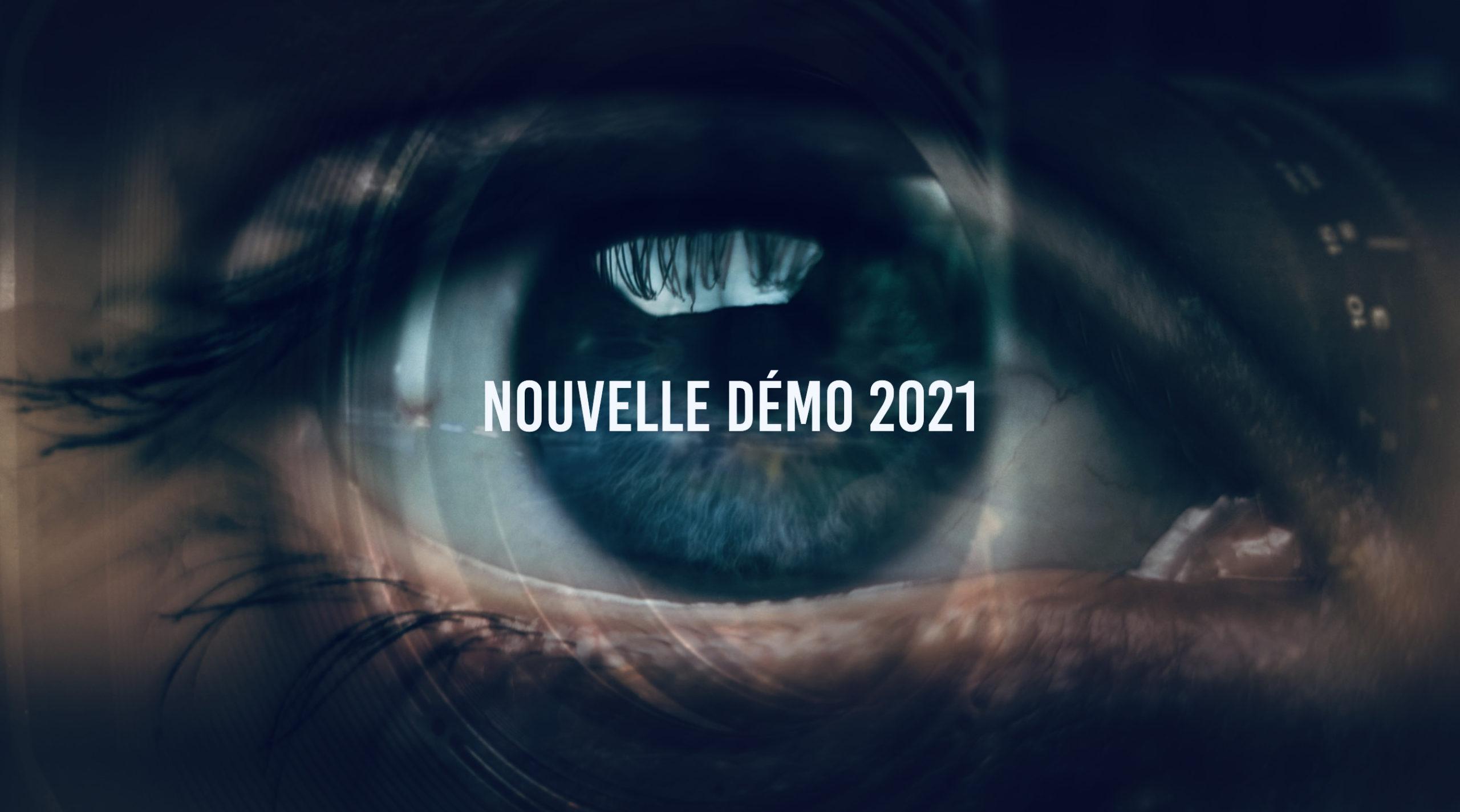 bouton vers la vidéo de démo 2021 production audiovisuelle basée dans le val d'oise